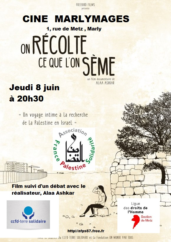 Affiche du film On récolte ce que l'on sème